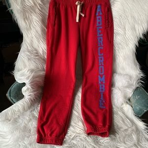 Abercrombie & Fitch Logo Joggers